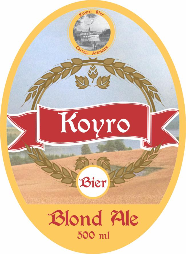 Rotulo Blond Ale